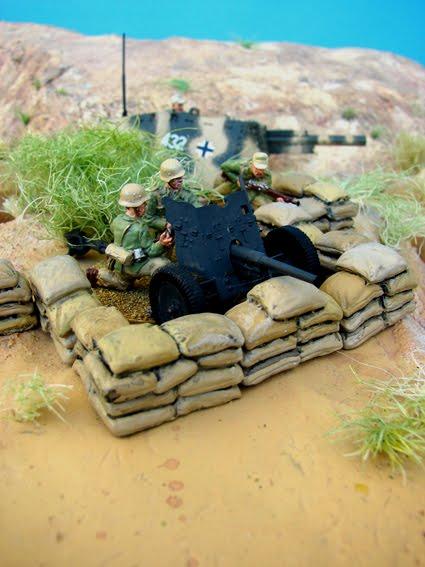 Sandbag Trenches