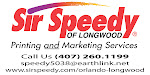 Sir Speedy Of Longwood,Fl.Printing and Marketing Services.