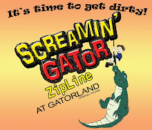 Screaming Gator Zip Line en Gatorland