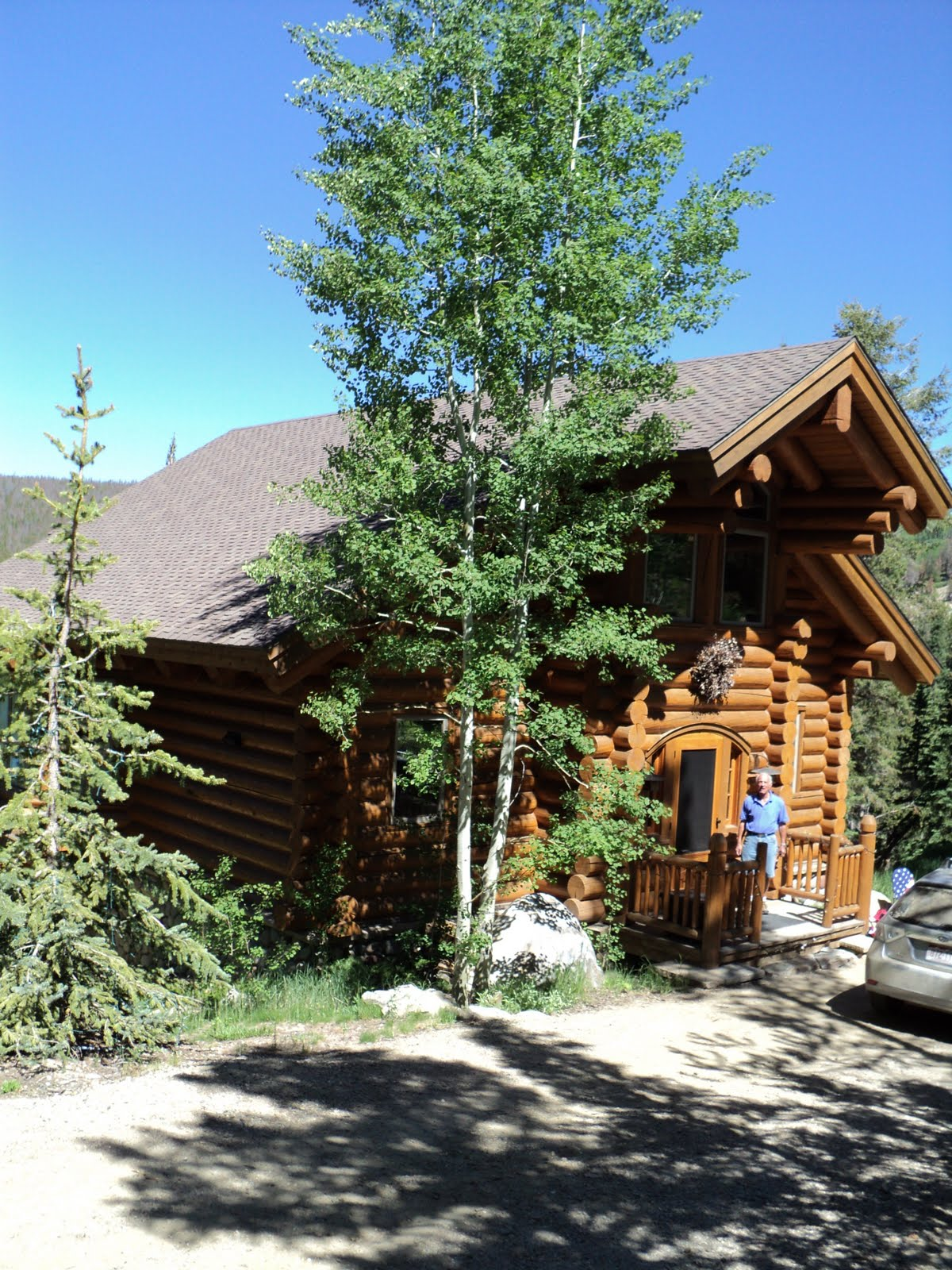 Peg and tom 39 s excellent adventure in steamboat lake agnes for Steamboat lake cabins