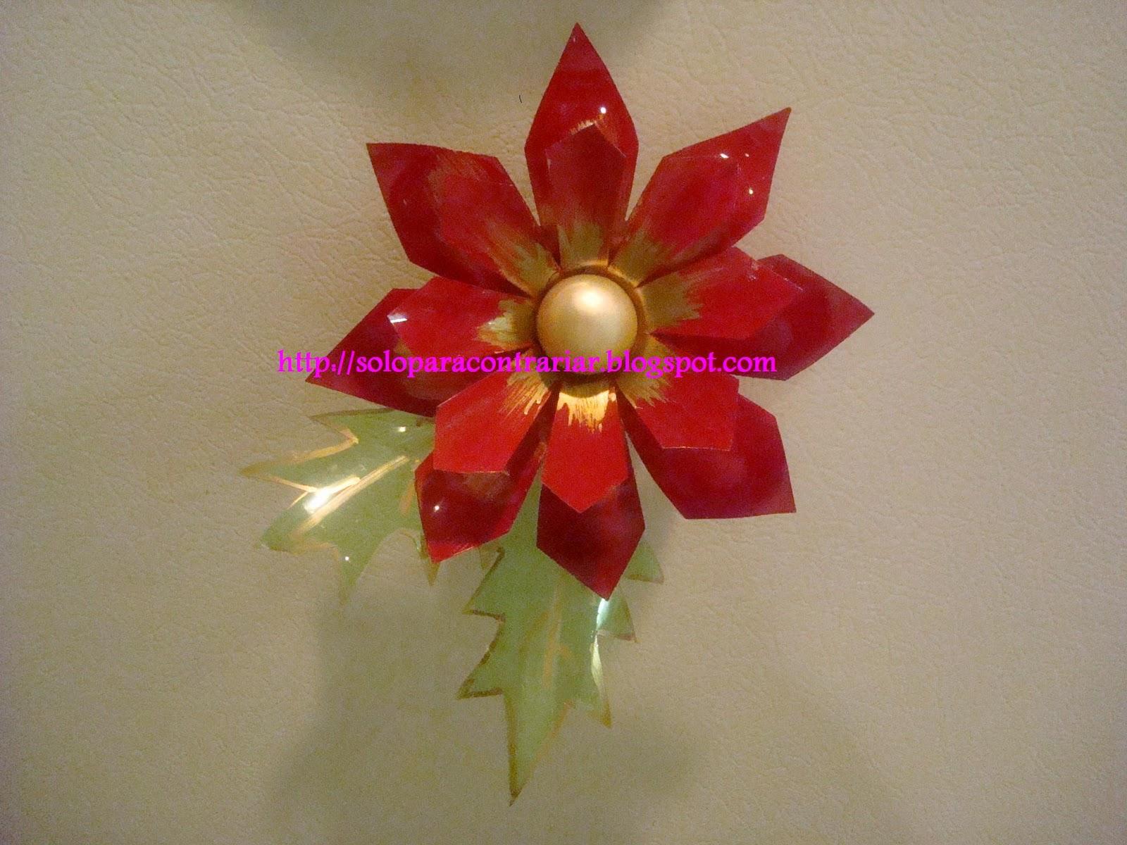 Imagenes De Flores Hechas Con Botellas - Ideas para reciclar: Flores hechas con pets