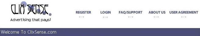 Welcome To ClixSense.com