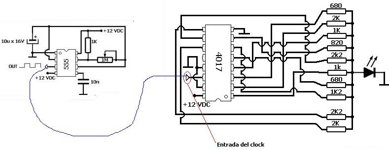 electronica  vela con led