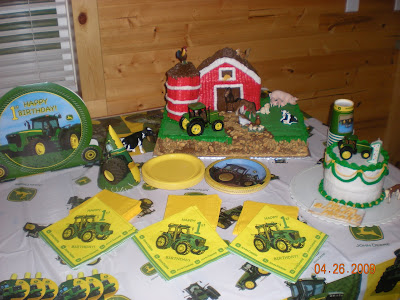 John Deere Birthday Cakes on John Deere Cake Made By My Grandma Owens  Thanks So Much It Turned Out