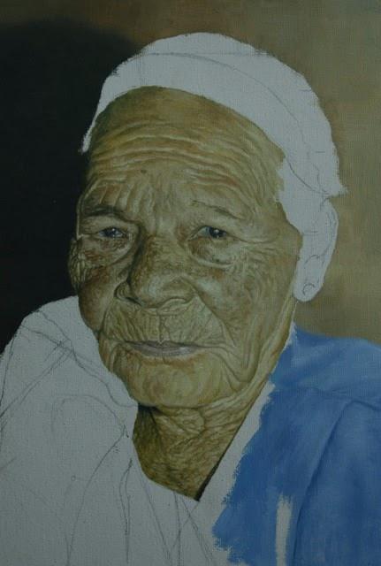 Retrato de Mi Abuela ( en proceso )