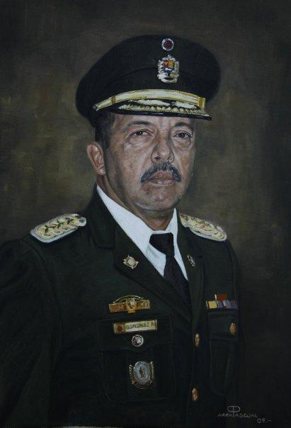 Retrato Coronel Gonzalez ( Director de CLUSOFA Maracay )