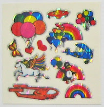 1980&#39;s Decal Specialties Prism Sheet