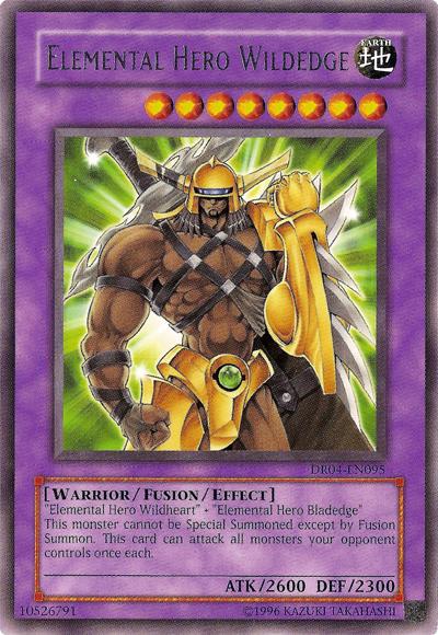 yu gi  elemental hero wildedge