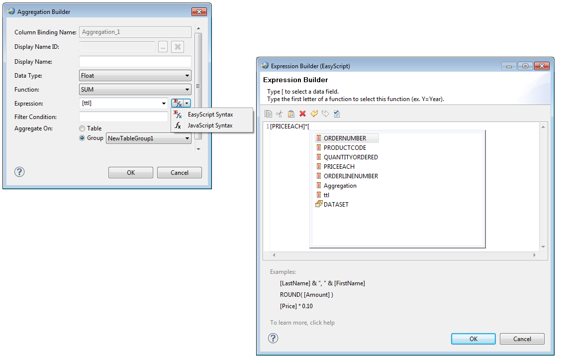 it also provides the capability to export formulas using a new scripting language called