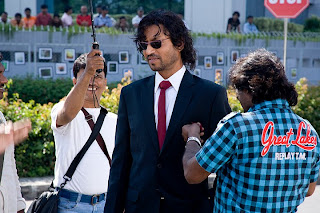 Irrfan Khan in Knockout production still