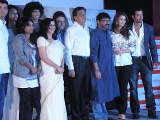 Guzaarish team at its first look launch