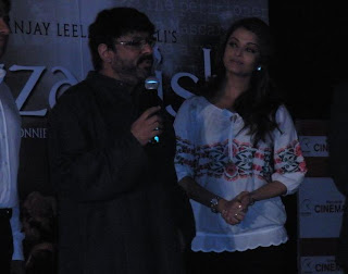 Sanjay and Aishwarya at first look launch of Guzaarish