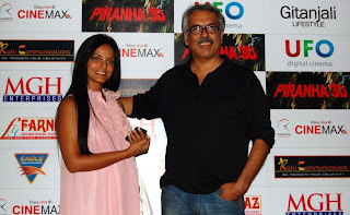Actress Nitu Chandra and Director MGH Enterprises, Mr Ashok Ahuja
