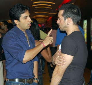 TV celebs for PIRANHA 3D' RED CARPET PREMIERE AT CINEMAX IN MUMBAI (2)