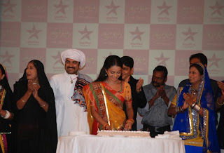 Protagonist Manasi Parekh at the premier of Star Plus Gulaal