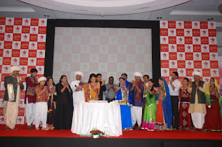 The entire star cast of Star Plus Gulaal at the premier at Taj Lands End Bandra Mumbai