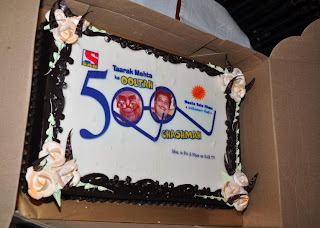 the celebration cake of TMKOC