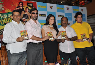 Director Subhash Kapoor, Rajat Kapoor, Neha Dhupia,  producer Ashok Pandey, Uday Suneja from Eagle Home Entertainment1