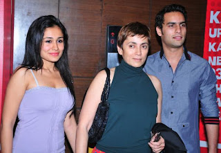 Sasha and Jagrat with Deepa Sahi