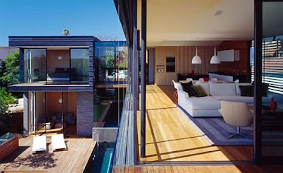 Modern Architecture Design, Luxury homes, Luxury house, The Muston Street House by Fox Johnston Architects