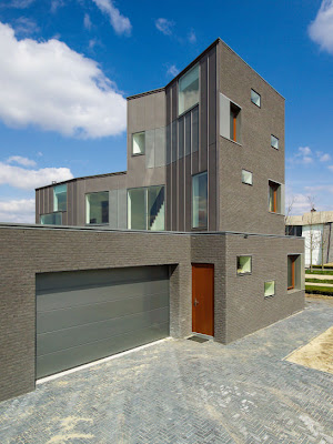 Brick House Design in Netherlands