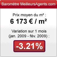 baromètre MeilleursAgents.com