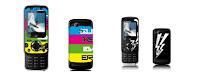 mobile Sony Ericsson spécifiquement designé par Quiksilver