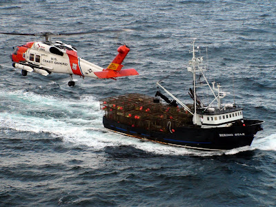 Us coast guard braces for western alaska winter fisheries for Bering sea fishing