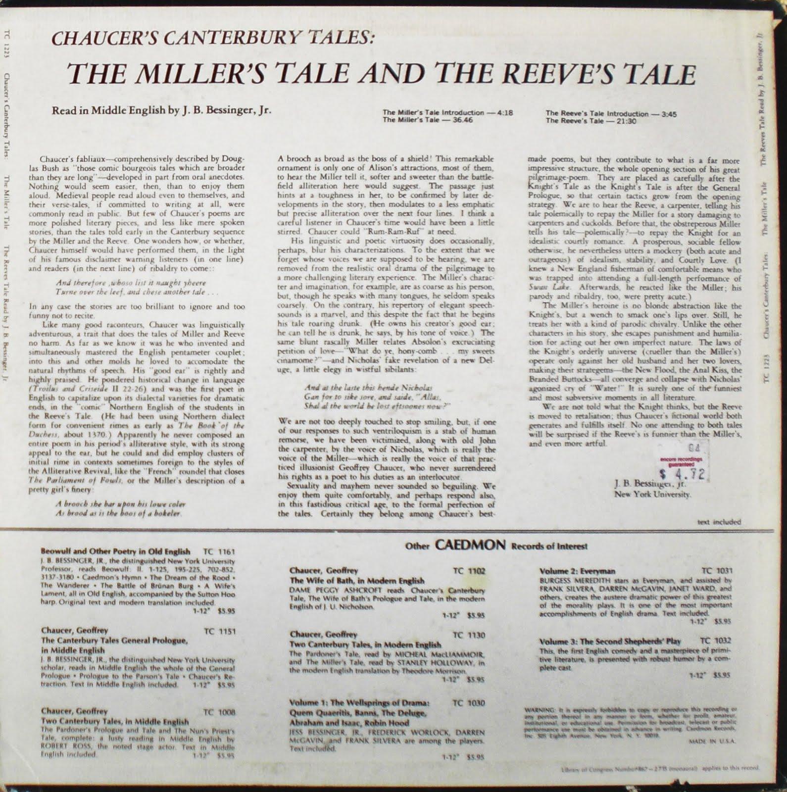 canterbury tales old english