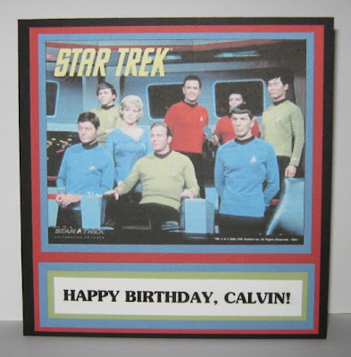 Stamperjoyces creative corner star trek birthday card in case the birthday guy stops by to visit his card on my blog happy birthday calvin bookmarktalkfo Image collections