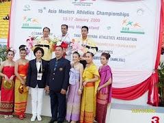 การแข่งขันกรีฑาสูงอายุชิงชนะเลิศแห่งเอเชีย ณ จังหวัดเชียงใหม่