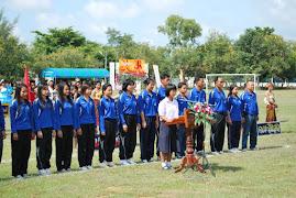 """การแข่งขันกีฬาสีภายในโรงเรียนกระเทียทวิทยา """"กระเทียมชุมชนสัมพันธ์ 52 """" 10-12 ก.ย.52"""