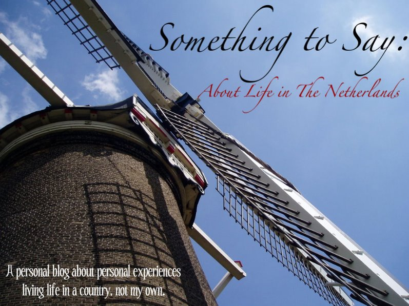 Something to Say: About Life in The Netherlands