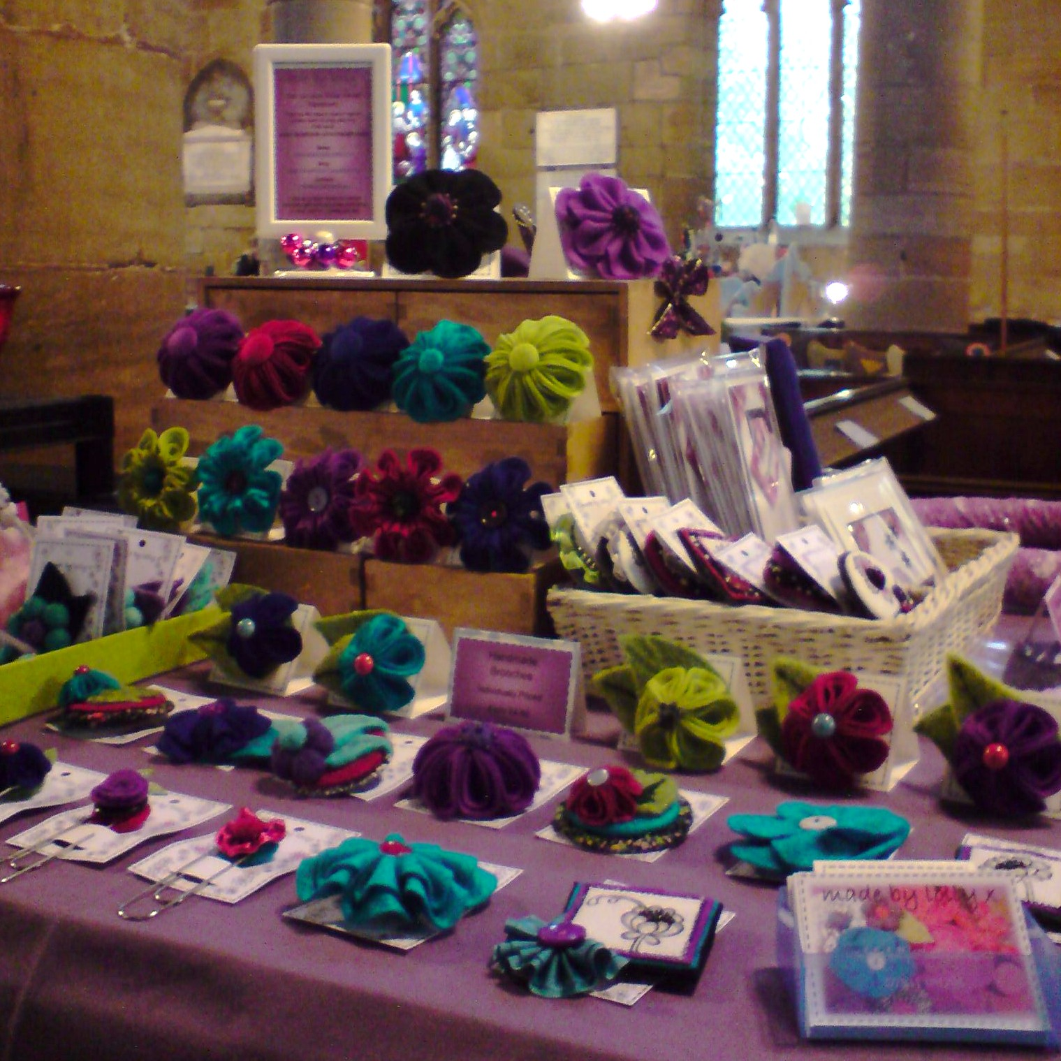 Made by lolly 39 wonderfully made 39 silkstone winter art for Made in the south craft shows
