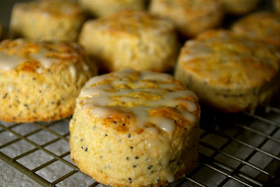 These Peas are Hollow: Lemon Poppyseed Scones