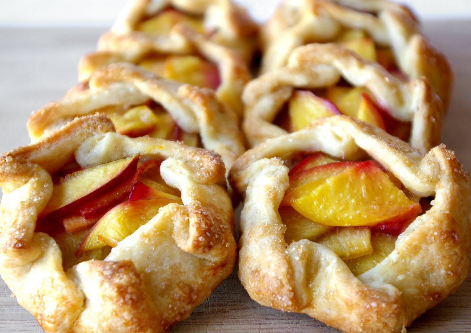 These Peas are Hollow: Mini Stone Fruit Galettes