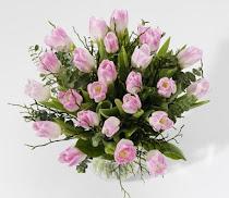En härlig tulpan bukett ifrån Roses-andangels sida