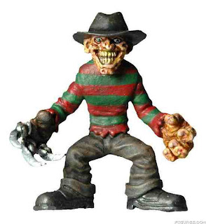 tiny terror freddy krueger figure