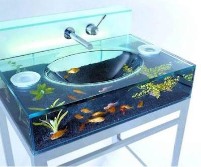 Sink Fish Tank