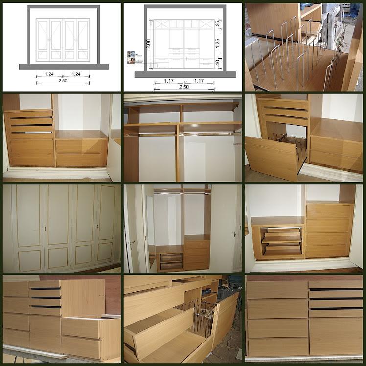 La Carpinteria de Daniel interiores de placard