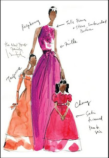 mizrahi conception of michelle obama inaugural ball gown