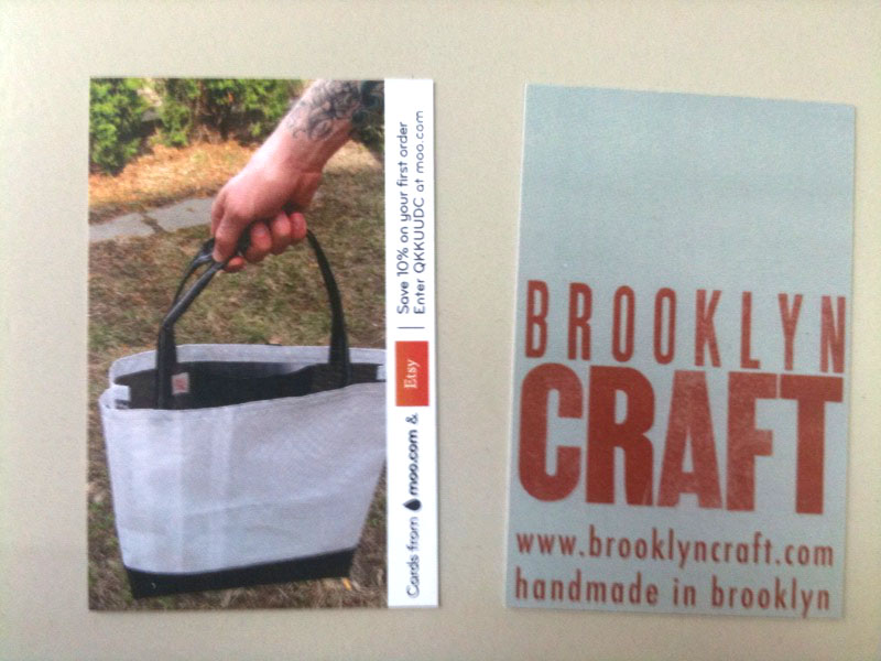 Brooklyn craft etsy and company called moo partnered up to give away 50 free business cards through etsy i ordered mine a while ago and they finally came today reheart Images