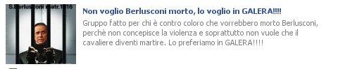 Berlusconi in galera