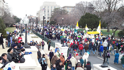 March for Life 2008, Washington, DC (photo credit: Thomas Peters, American Papist, americanpapist.com