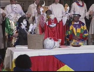 Clown Mass from the Bovina Bloviator