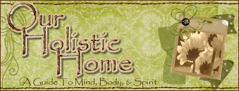 Our Holistic Home:  A Guide To A Healthier Mind, Body, &amp; Spirit