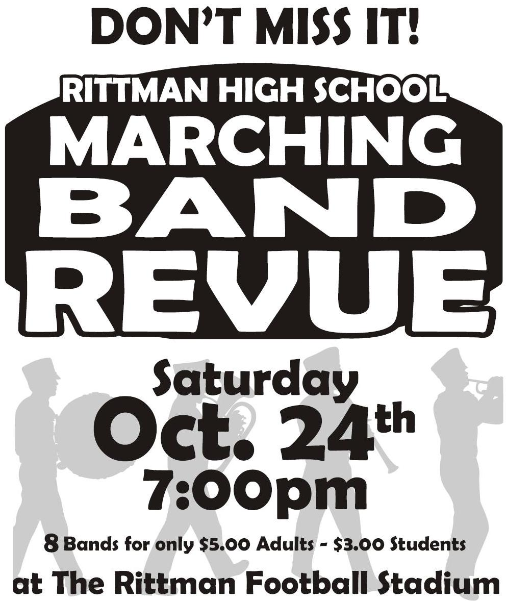 Our Annual Rittman Band Revue is Here!