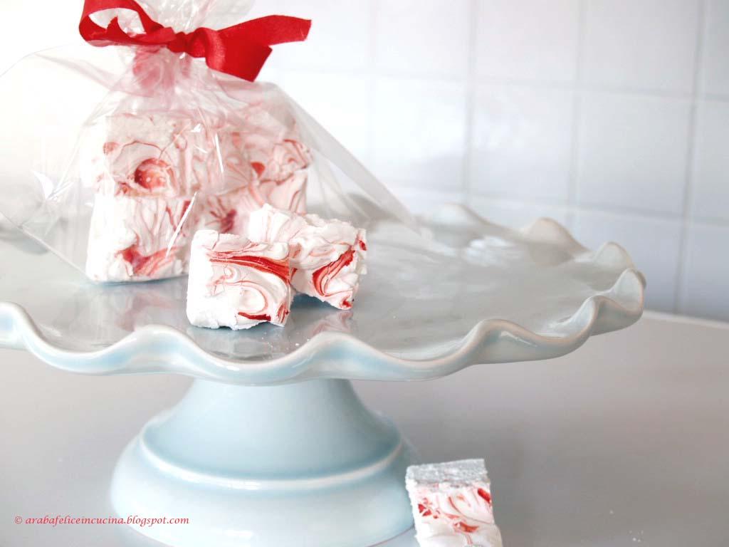 Arabafelice in cucina!: Candy-Cane Marshmallows