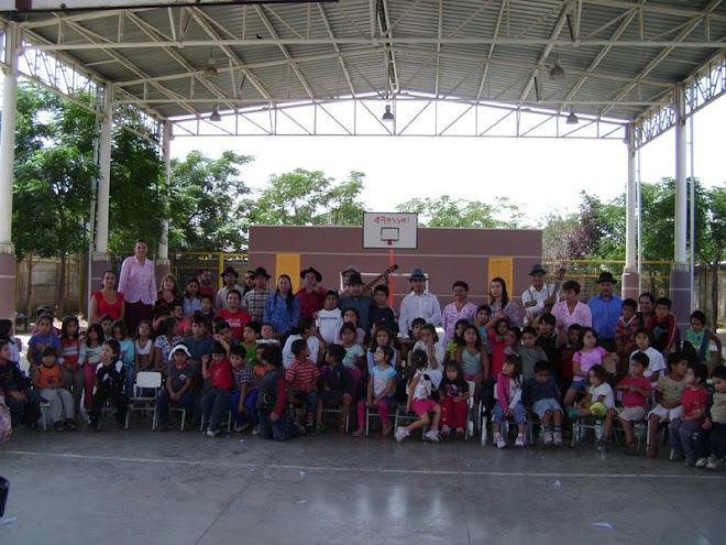 Festival Nacional de Folklore en San Bernardo 2008, compartiendo con la Comunidad sanbernardina