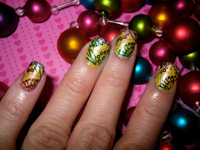 Nail Art Idea Mardi Gras Nail Art Ideas